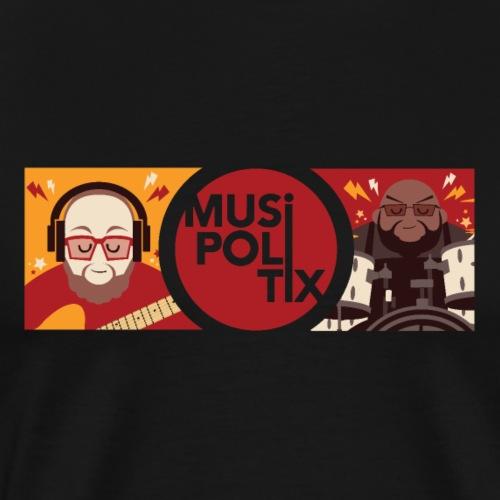 MUSiPOLiTiX Sara Banner #2 - Men's Premium T-Shirt