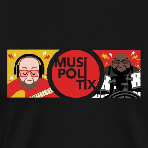 MUSiPOLiTiX Sara Banner #1 - Men's Premium T-Shirt