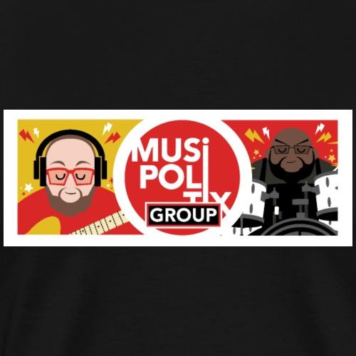 MUSiPOLiTiX GROUP Banner - Men's Premium T-Shirt