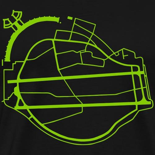 Berlin Tempelhof Airport - Men's Premium T-Shirt
