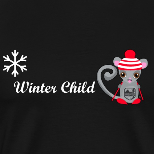 Mountain Winter Fairy - Men's Premium T-Shirt