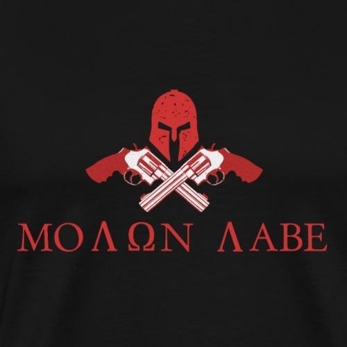 Molon Labe Come And Take Them! - Men's Premium T-Shirt