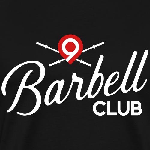 CrossFit9 Barbell Club (White) - Men's Premium T-Shirt