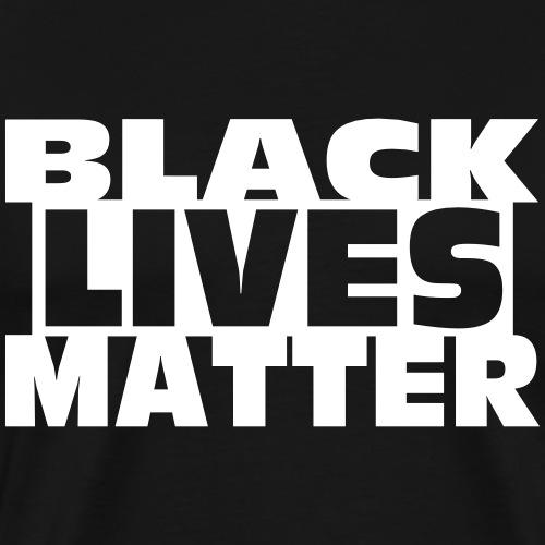 Black Lives Matter Cap Vector - Men's Premium T-Shirt