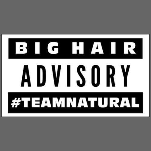 Big Hair Advisory - Men's Premium T-Shirt