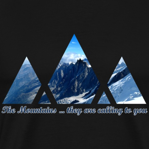Calling Mountains - Men's Premium T-Shirt