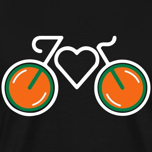 I Love Biking - Men's Premium T-Shirt
