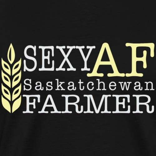 Sexy AF Saskatchewan Farmer - Men's Premium T-Shirt