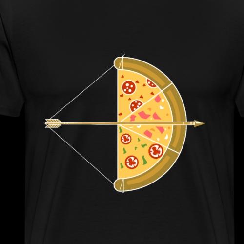 Cupid's Pizza Arrow - Men's Premium T-Shirt