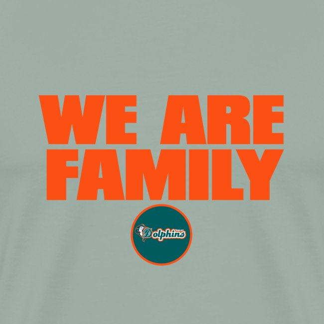 we are family dolphins
