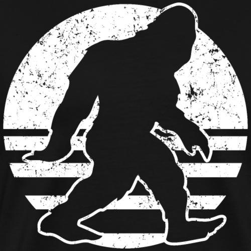 Retro Bigfoot - Men's Premium T-Shirt