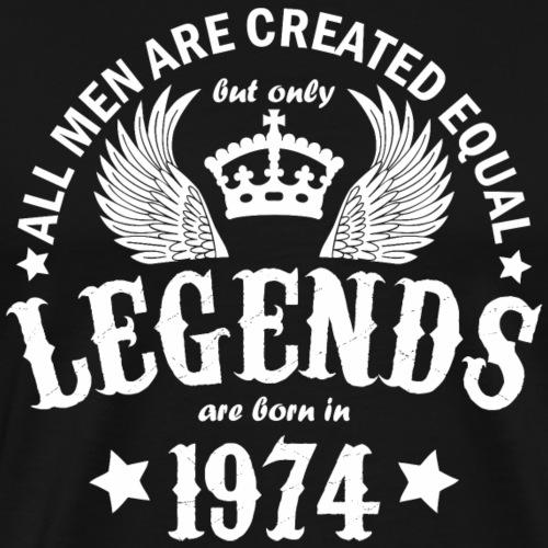 Legends are Born in 1974 - Men's Premium T-Shirt