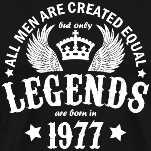 Legends are Born in 1977 - Men's Premium T-Shirt