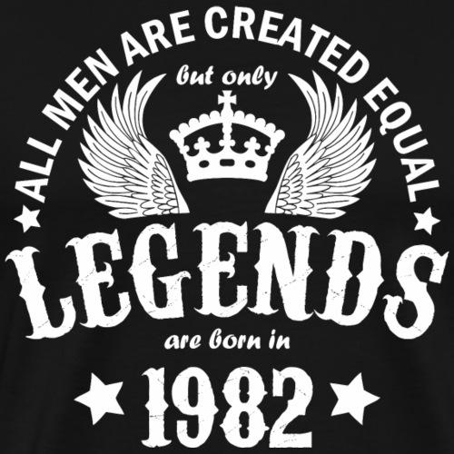 Legends are Born in 1982 - Men's Premium T-Shirt