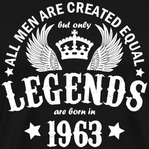 Legends are Born in 1963 - Men's Premium T-Shirt
