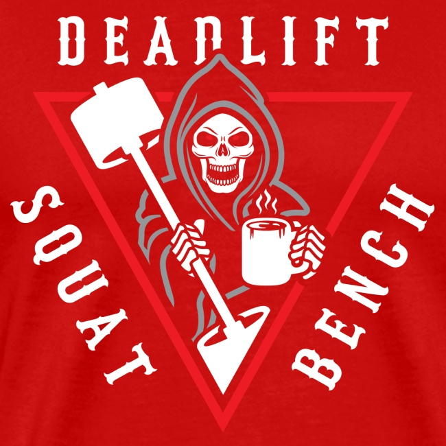 Squat Bench Deadlift Grim Reaper