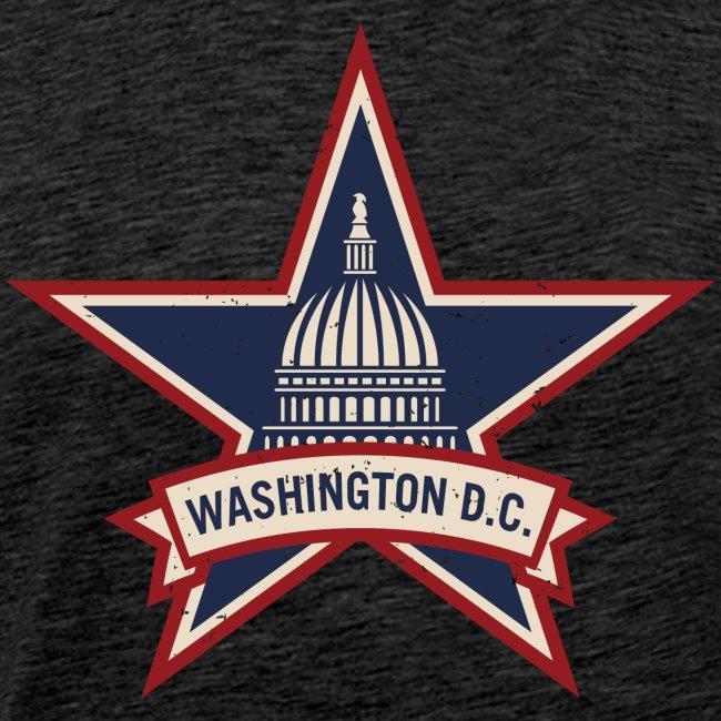 Washington D.C. Vintage Style Logo