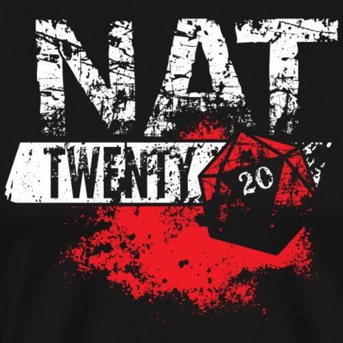 NAT 20 RPG Tee - Men's Premium T-Shirt