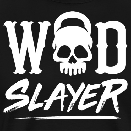 WOD Slay er Skull - Men's Premium T-Shirt