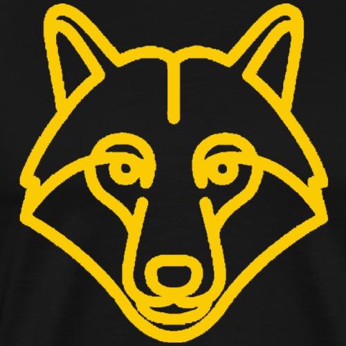 Official GoldWolf Gamer T-shirt - Men's Premium T-Shirt