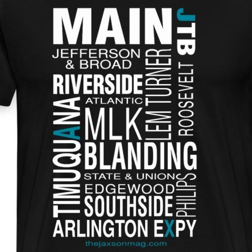 Jacksonville Streets - Men's Premium T-Shirt