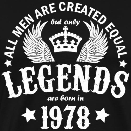 Legends are Born in 1978 - Men's Premium T-Shirt