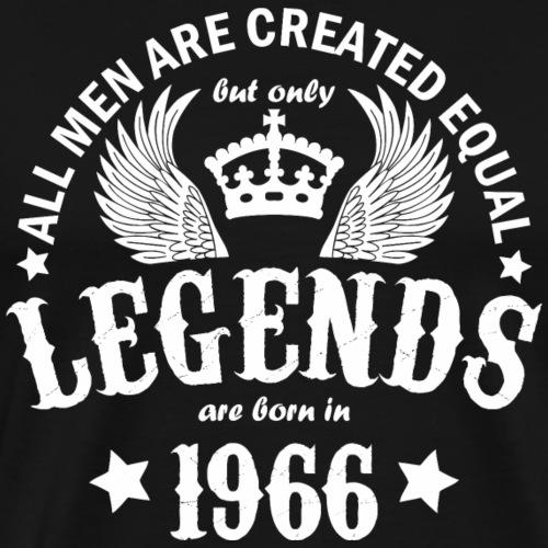 Legends are Born in 1966 - Men's Premium T-Shirt