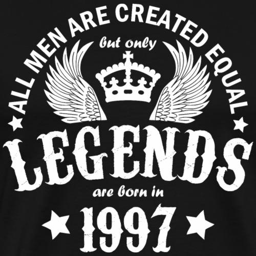 Legends are Born in 1997 - Men's Premium T-Shirt