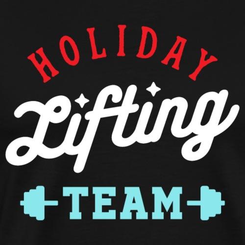 Holiday Lifting Team (Christmas Gym Fitness) - Men's Premium T-Shirt