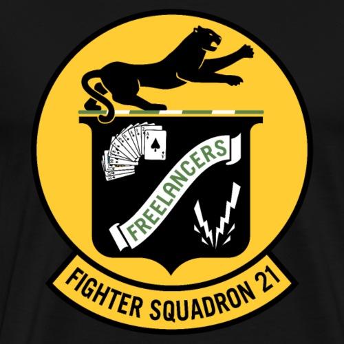Fighter Squadron Twenty One VF-21 - Men's Premium T-Shirt