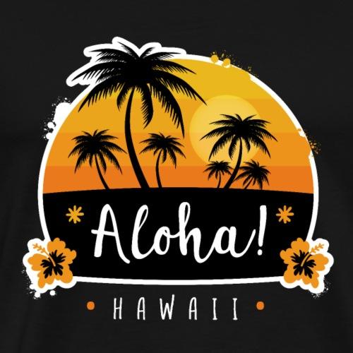 Aloha Hawaii - Men's Premium T-Shirt