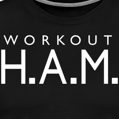 Workout Ham - Men's Premium T-Shirt