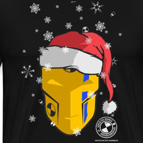 Dummies Android Head Santa Hat! - Men's Premium T-Shirt