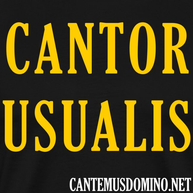 Cantor Usualis branded