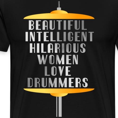 Drummer Wife - Men's Premium T-Shirt