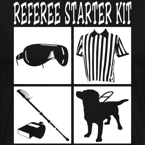 Cool Referee Starter Kit T-Shirt Graphic Design - Men's Premium T-Shirt
