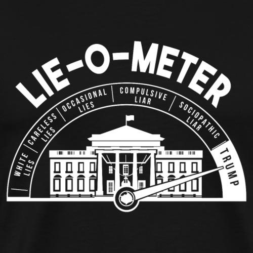 Trump Lie O Meter - Men's Premium T-Shirt