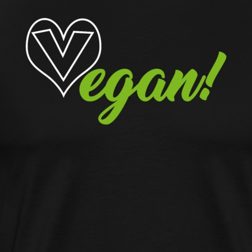 Vegan Vegan Vegan - Men's Premium T-Shirt