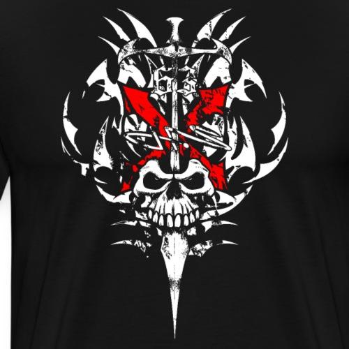 X Skull - Men's Premium T-Shirt