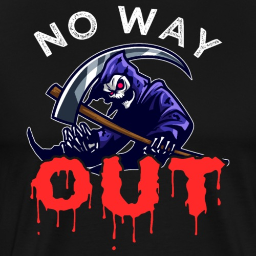 Grim Reaper | No Way Out - Men's Premium T-Shirt