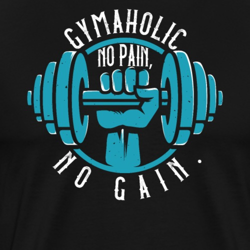 Gymaholic - Men's Premium T-Shirt
