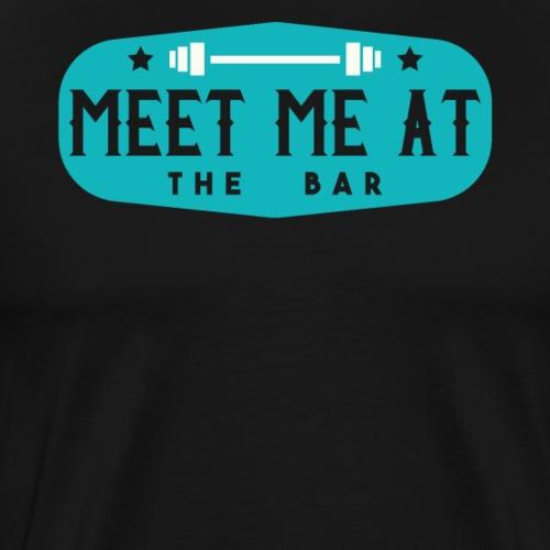 Meet Me At The Bar - Men's Premium T-Shirt