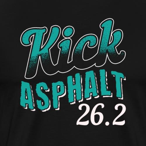 Kick Asphalt 26.2 | Full Marathon - Men's Premium T-Shirt