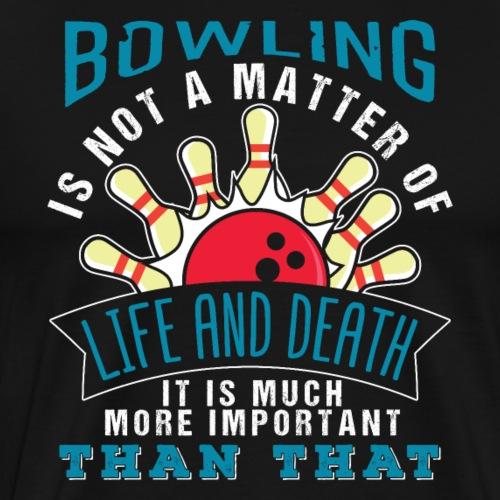 Bowling Sport Team - Men's Premium T-Shirt