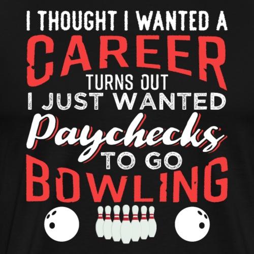 Bowling Sport Team Club - Men's Premium T-Shirt