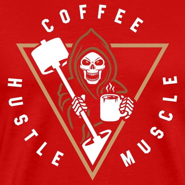 Coffee Hustle Muscle Grim Reaper