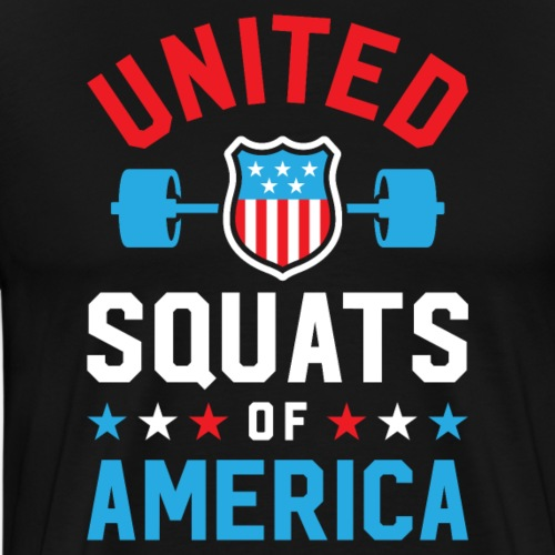 United Squats Of America v2 - Men's Premium T-Shirt
