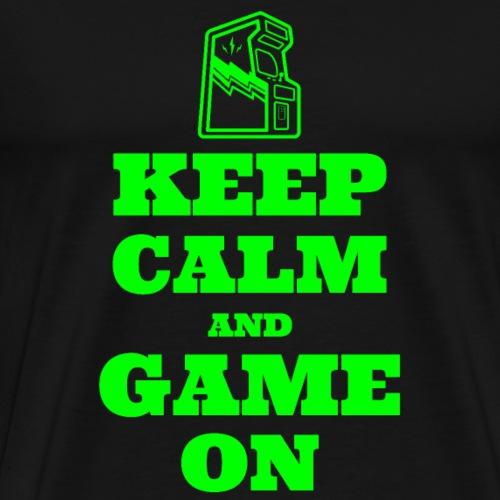 Keep Calm and Game On | Retro Gamer Arcade