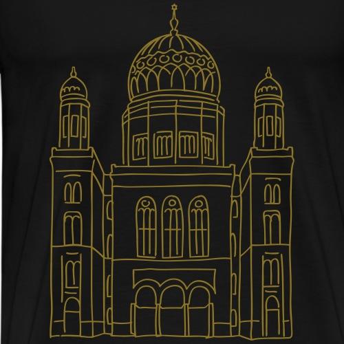 New Synagogue Berlin - Men's Premium T-Shirt