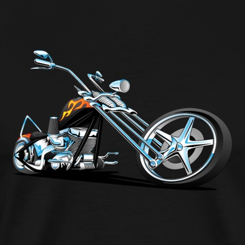 Classic American Chopper - Men's Premium T-Shirt